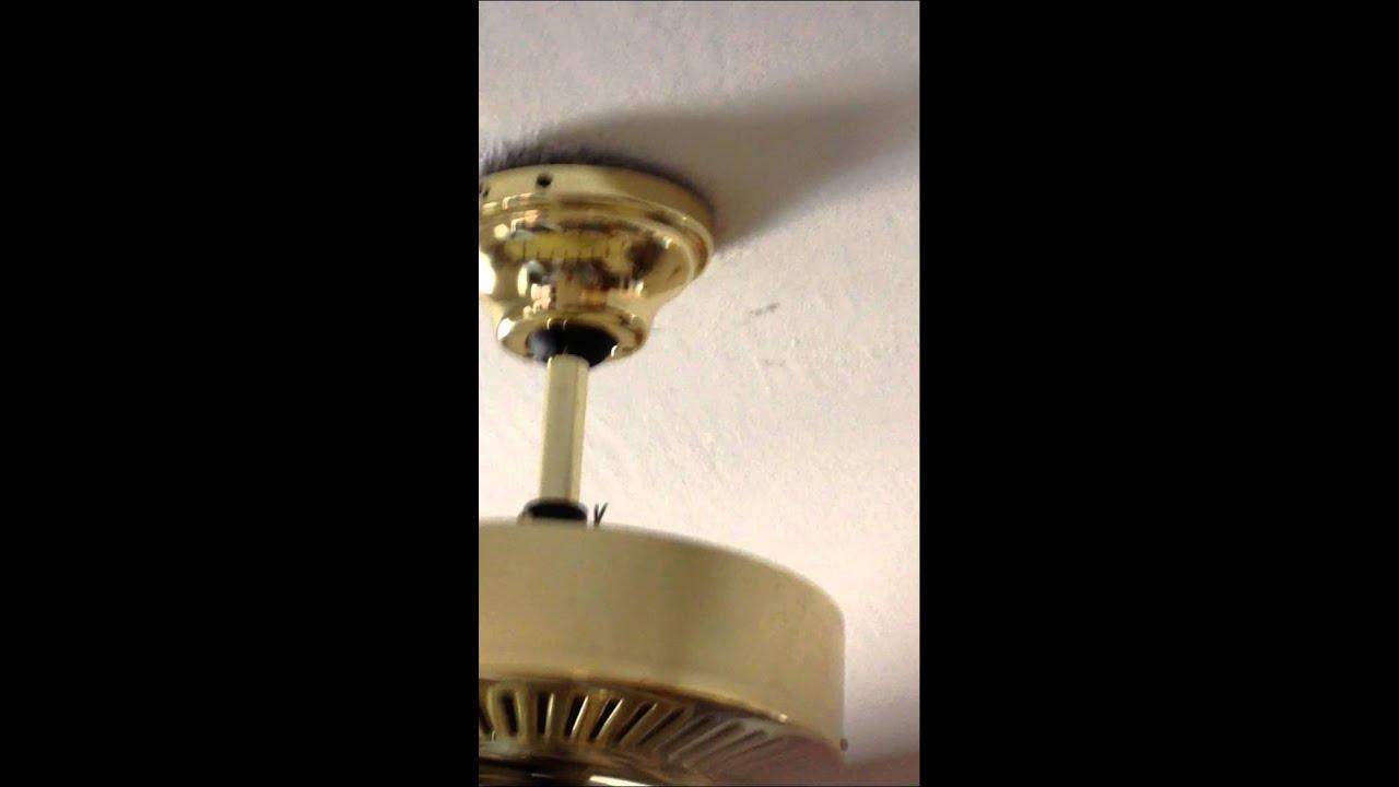 Ceiling Fan Wobble Youtube