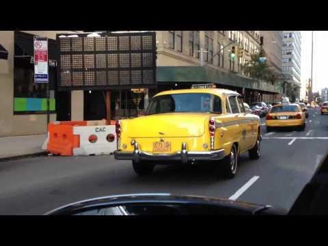 Checker cab - vintage NYC taxi