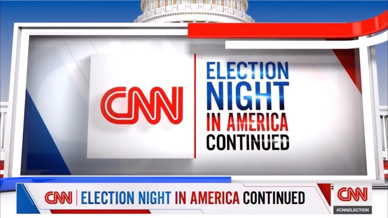 CNN Election Night in America Continued Intro/Opening 2021