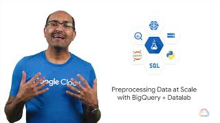 BigQuery and Datalab - End-to-End Machine Learning with TensorFlow on GCP from Google Cloud #8