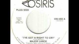 Major Lance - I