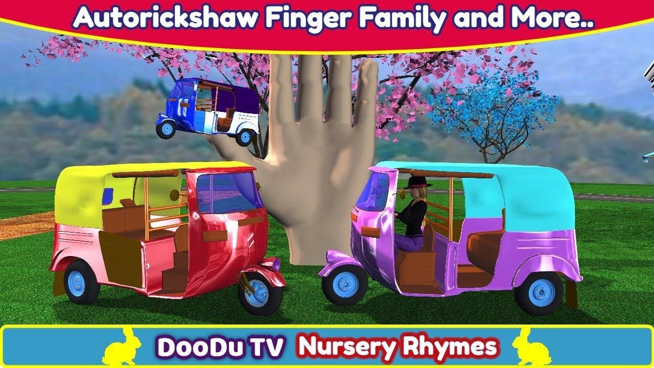Download AutoRickshaw Rhymes | Finger Family Nursery Rhymes | Auto Rickshaw Video for Children & more Rhymes