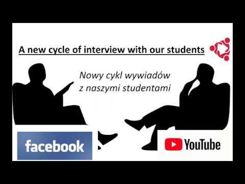 Interview with our student from USA - Thomas (Wywiad z naszym studentem z USA - Thomasem)