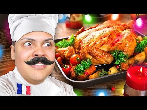 HOW TO COOK CHRISTMAS DINNER - Cooking With Chef MessYourself