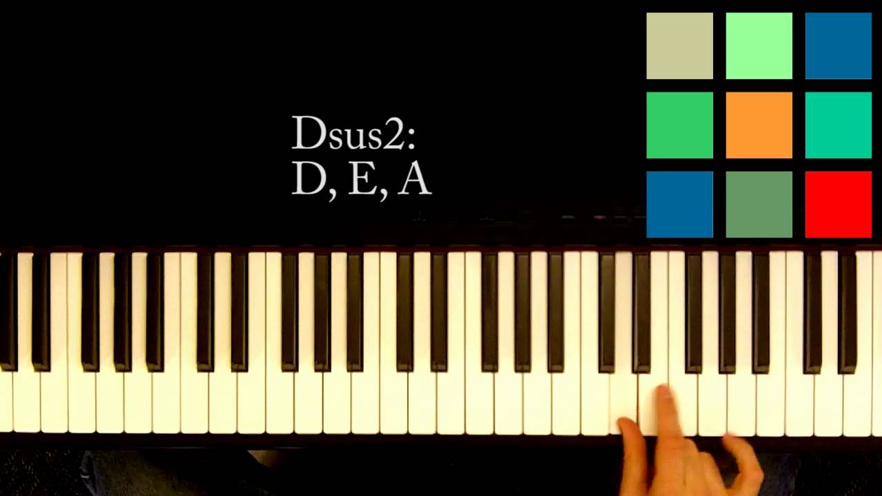 How to play a dsus2 chord on the piano youtube how to play a dsus2 chord on the piano hexwebz Choice Image
