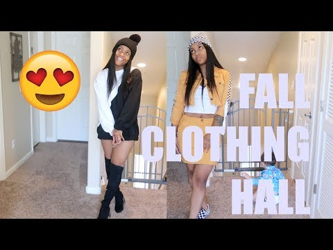 FALL CLOTHING HAUL!!! ft Klaiyi Hair