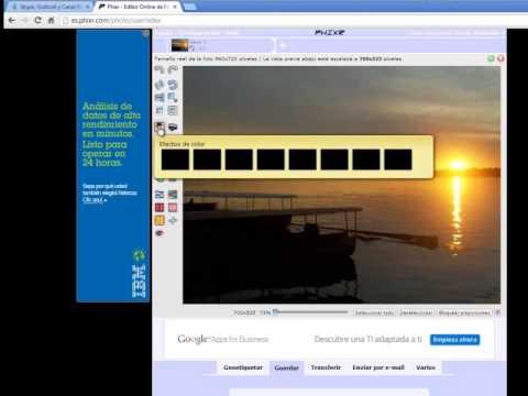 phixr editor online fotos