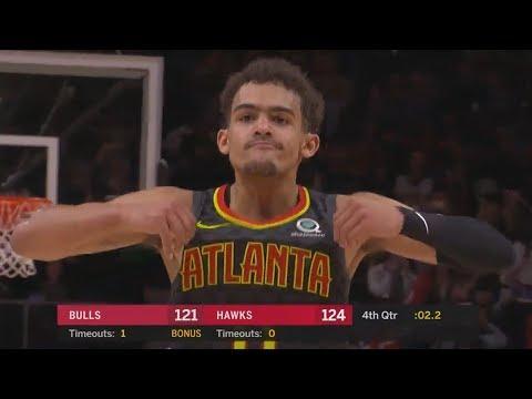 Trae Young 49 Pts Zach LaVine 47 Pts 4OT! 2018-19 NBA Season