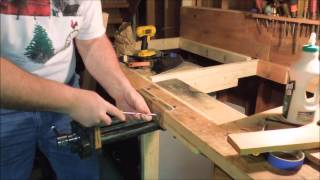 Installing A Quick Adjust Bench Vise Part 2 Of 4 - A Video Tutorial By Old Sneelock's Workshop