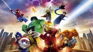 Лего Мультики: Фантастическая Четверка Секретная лаборатория Lego Marvel