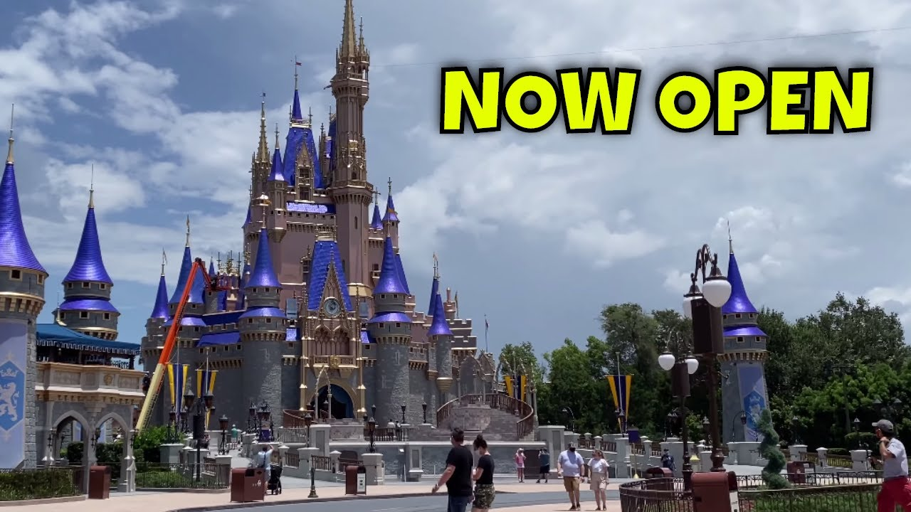 Disney World REOPENS (First Day) Magic Kingdom Preview | Crowd, New Procedures, Everything to Know