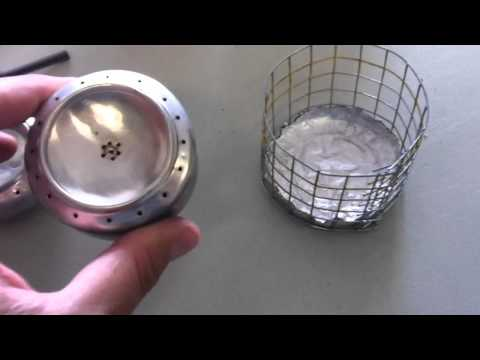 SODA CAN ALOCOHOL STOVE MODIFICATIONS.
