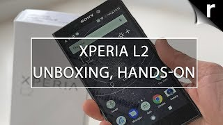 Sony Xperia L2 Unboxing & Hands-on Review
