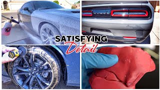 Satisfying FULL Detail on Dodge Challenger| Interior & Exterior Deep Clean