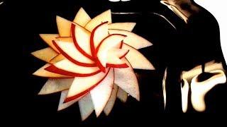 Как красиво нарезать яблоки - Украшения из фруктов & Карвинг яблок - Украшения стола