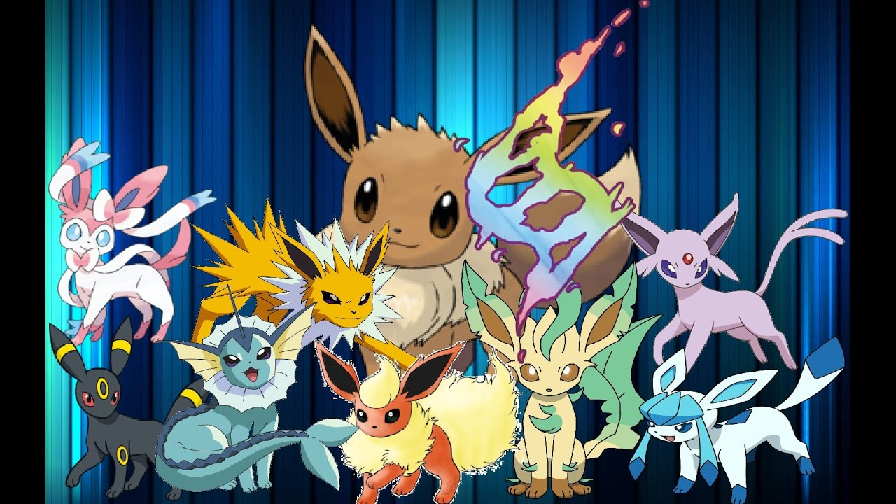 also all eevee evolutions in mega evolution youtube rh