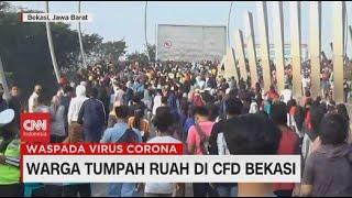 Warga Tumpah Ruah di CFD Bekasi