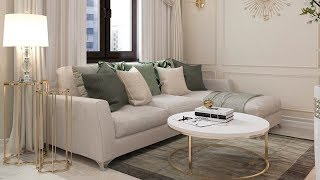Small Living Room Furniture and Decor | Small Living room design ideas 2019