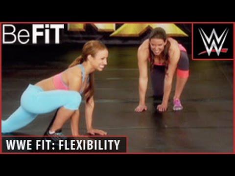 WWE Fit Series: Stretching & Flexibility Training- Stephanie McMahon