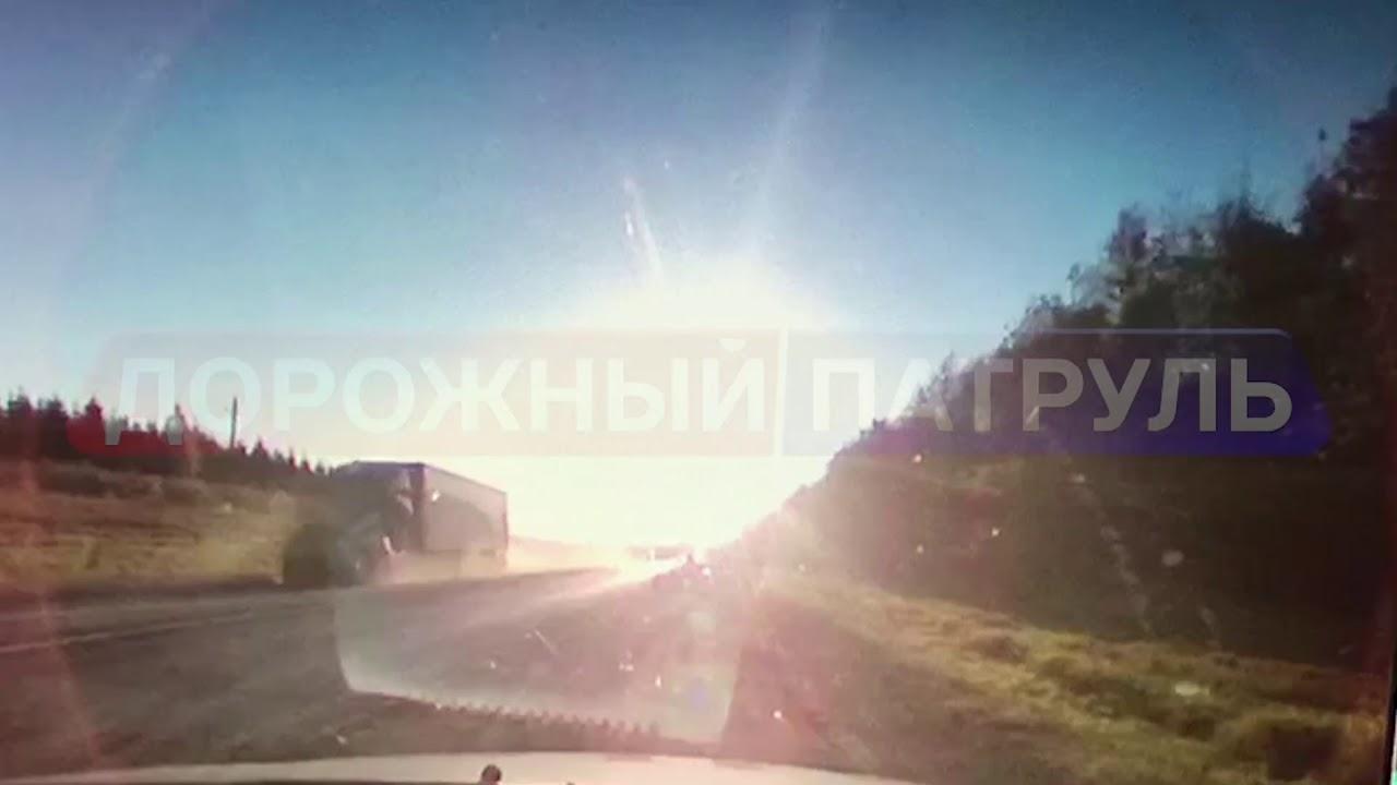 Смертельное ДТП в Иглинском районе (10.10.17) [Дорожный патруль]