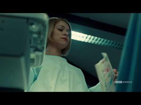 Orphan Black  2x10  Sarah Stab Rachel In The Eye