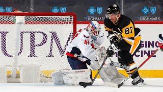 Crosby hammers OT winner past Vanecek