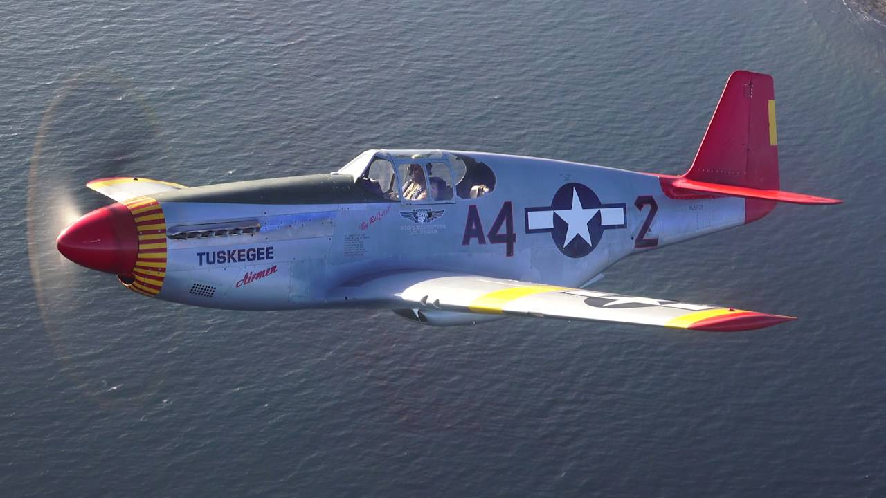 P 51 Past To Present With The Caf Red Tail Squadron