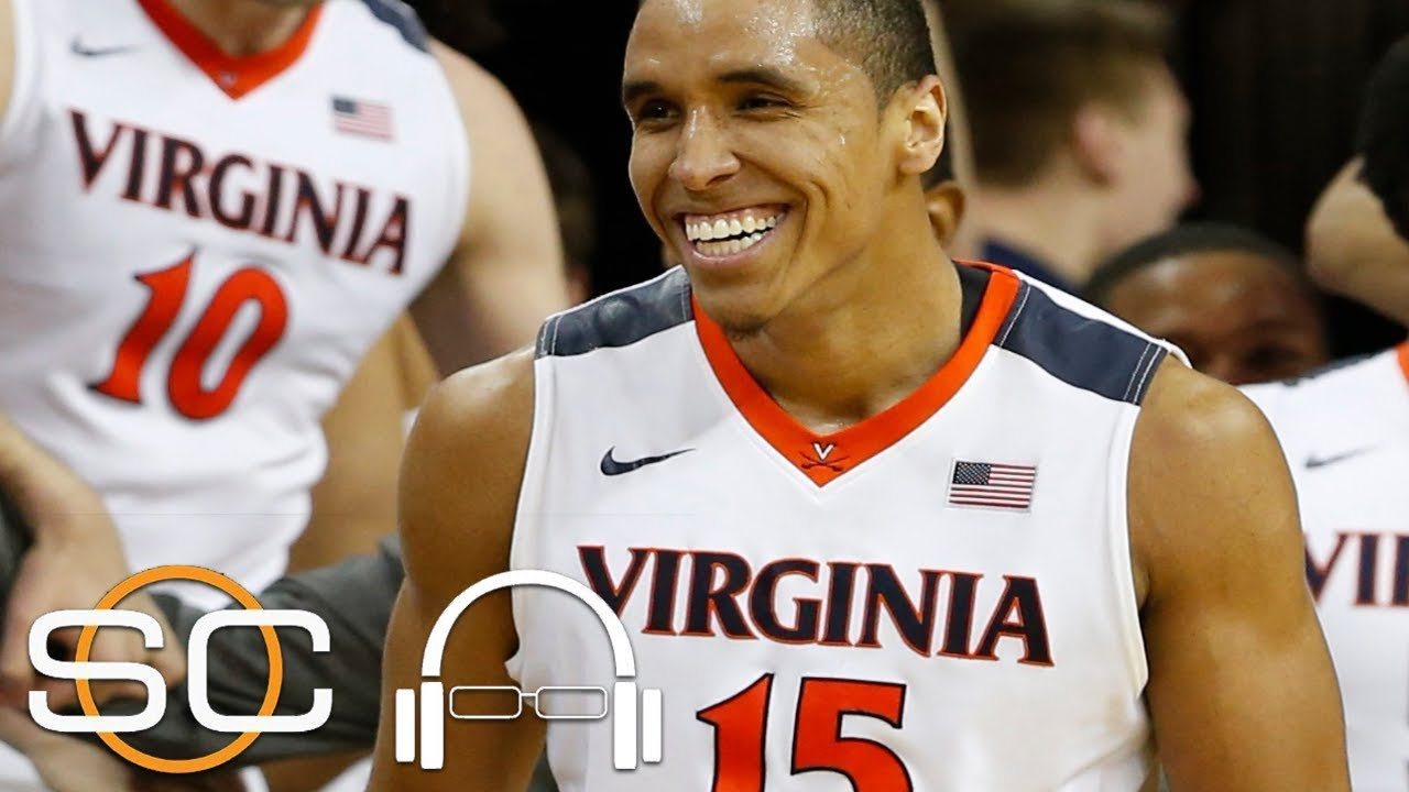 Ty Jerome mocks Stephen A. Smith after Virginia's NCAA championship win