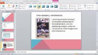 6 - PowerPoint 2010 Crash Course