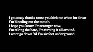 Papa Roach-Kick in The Teeth(Lyrics)