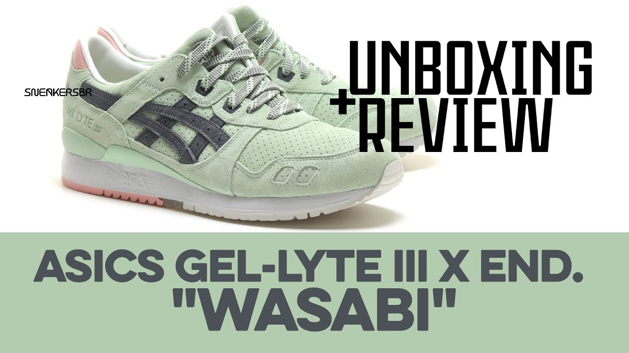 brand new 5bdf9 4ff29 UNBOXING+REVIEW - Asics GEL-Lyte III X END. -