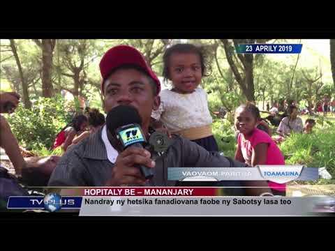 VAOVAOM PARITRA DU 23 AVRIL 2019 BY TV PLUS MADAGASCAR