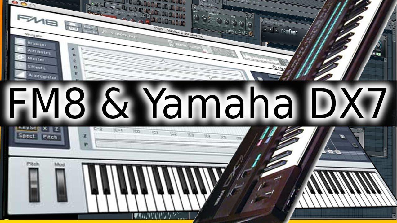 10 fm8 yamaha dx7 80s keyboard 80er software synthesizer vst