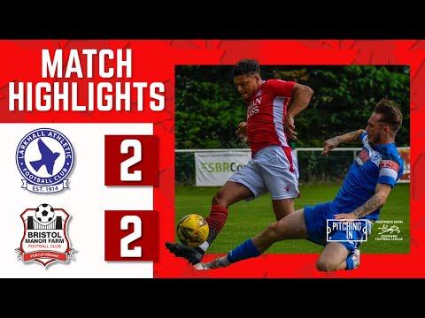 MATCH HIGHLIGHTS: Larkhall Athletic 2-2 Bristol Manor Farm