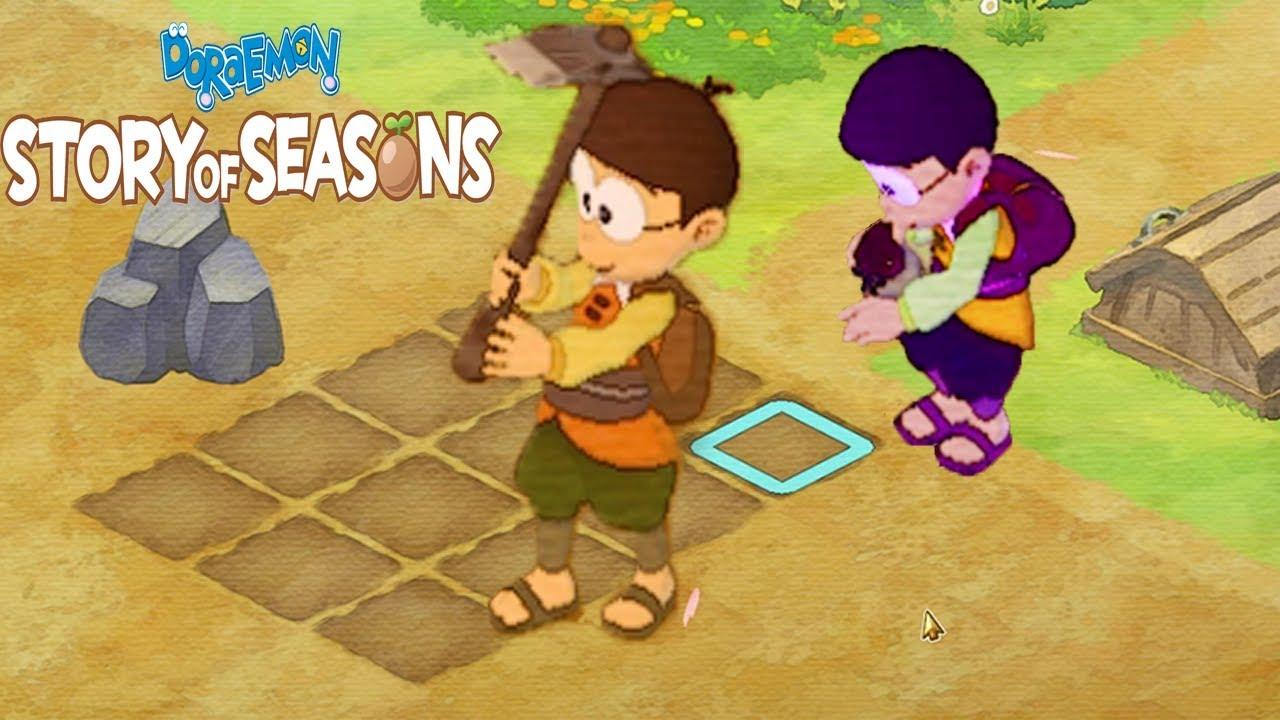 Doremon – Tập 2 – Nobita Và Hành Trình Trồng Trọt Ở Vương Quốc 4 Mùa | Doraemon Story of Seasons