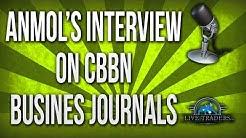 Anmol's Interview on CBBN Business Journals- Chicago Radio
