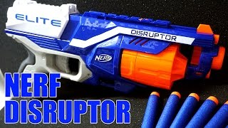 【NERF】ディスラプター 激連射キット 開封&紹介!! N-Strike Elite Disruptor Unboxing and Review【ナーフ】