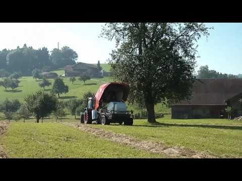 Kuhn BIO Rundballenpresse (HD Quality)