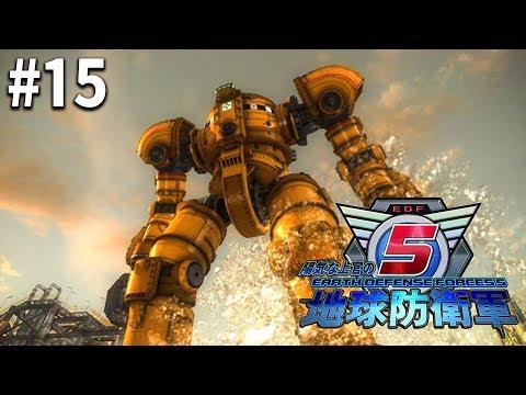 陽気な上官の地球防衛軍5 #15【PS4】