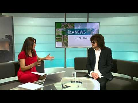 Jeff Lynne - Itv News Central (Full interview)