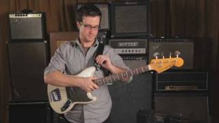 How to Strap On & Play While Standing | Bass Guitar