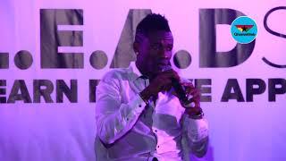 Asamoah Gyan idolizes President George Weah