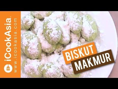 Resepi Biskut Makmur | Try Masak | iCookAsia - YouTube