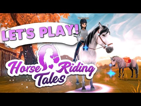 Trying Horse Riding Tales! – Horse Game 🐴
