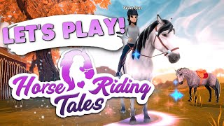 Trying Horse Riding Tales   Horse Game 🐴