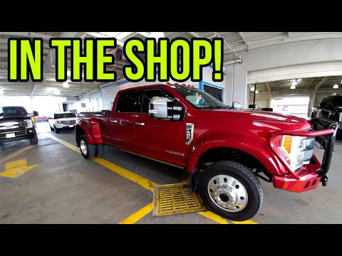 My Ford F450 Truck Is In The Shop!