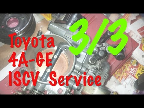 Toyota 4AGE Engine Throttle Body Service (3/3) : Reassembly, tuning the TPS Sensor