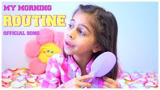 My MORNING ROUTINE Song - Music Video for Children by Kids Learning Songs