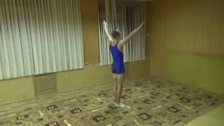 Комбинация по акробатике юноши