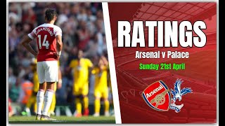 Arsenal Player Ratings - Mustafi Out!!!
